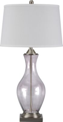 Ashley Shanita Glass Table Lamp