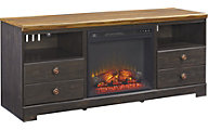 Ashley Maxington 63-Inch Fireplace