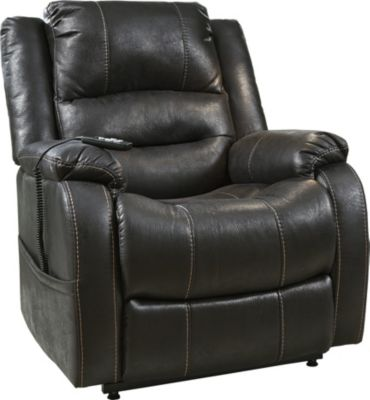 Ashley Yandel Black Power Lift Recliner