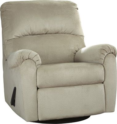 Ashley Bronwyn Cream Glider Recliner