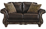 Ashley Vanceton Bonded Leather Loveseat