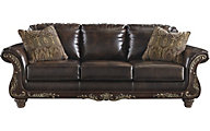 Ashley Vanceton Bonded Leather Sofa