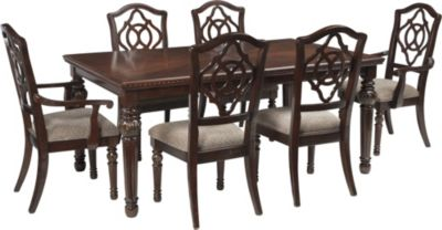 Ashley Leahlyn Table and 6 Chairs