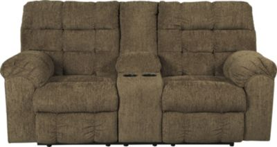 Ashley Antwan Reclining Loveseat with Console
