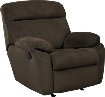 Ashley Demarion Brown Rocker Recliner