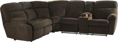 Ashley Demarion Brown 2-Piece Sectional