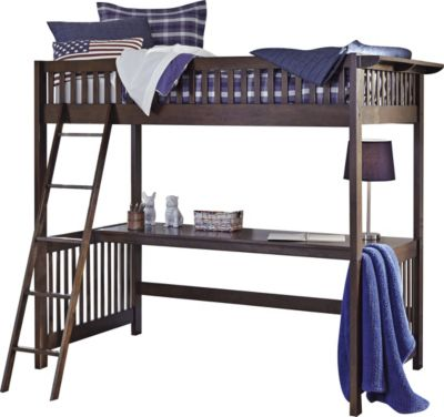 Ashley Strenton Twin Loft Bed with Desk