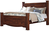 Ashley Brittberg King Poster Bed