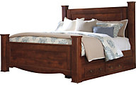 Ashley Brittberg King Storage Bed