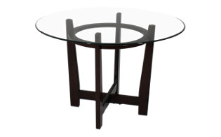 Ashley Charrell Glass Top Table