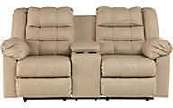 Ashley Brolayne Reclining Loveseat with Console