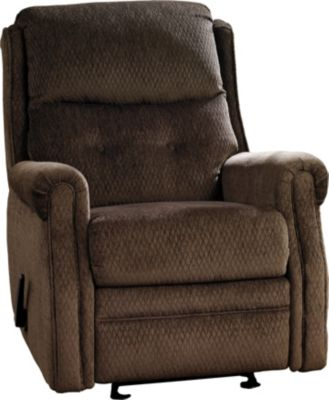 Ashley Meadowbark Brown Glider Recliner
