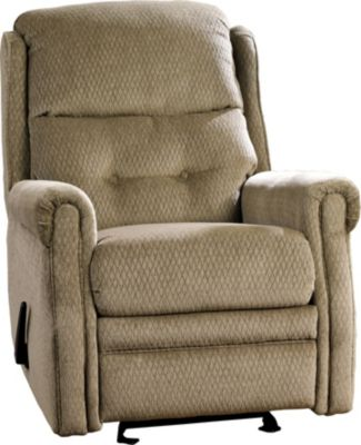 Ashley Meadowbark Mocha Glider Recliner