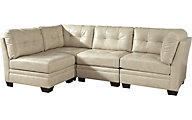 Ashley Khalil Modular Cream 4-Piece Sectional