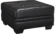 Ashley Khalil Black Oversized Ottoman