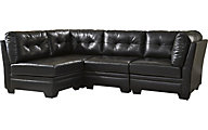 Ashley Khalil Modular Black 4-Piece Sectional