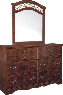 Ashley Delianna Dresser with Mirror