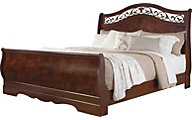 Ashley Delianna Queen Sleigh Bed