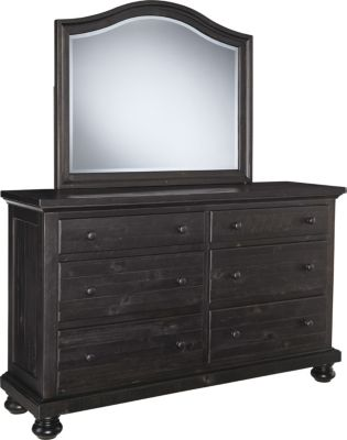 Ashley Sharlowe Dresser with Mirror
