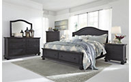 Ashley Sharlowe 4-Piece King Bedroom Set