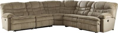 Ashley Zavion 5-Piece Reclining Sectional