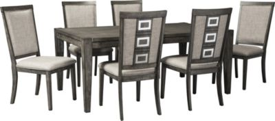 Ashley Chadoni 7 Piece Dining Set Homemakers Furniture