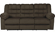 Ashley Mort Brown Reclining Sofa