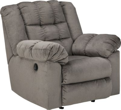 Ashley Mort Gray Rocker Recliner
