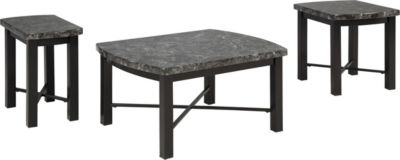 Ashley Otterton Coffee Table & 2 End Tables