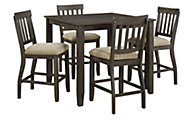 Ashley Dresbar Counter Table & 4 Stools