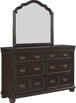 Ashley Moluxy Dresser with Mirror