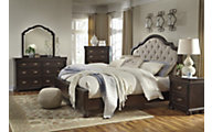 Ashley Moluxy 4-Piece Queen Bedroom Set
