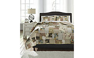 Ashley Damalis 3-Piece King Quilt Set