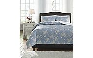 Ashley Damita 3-Piece King Quilt Set
