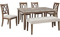 Ashley Narvilla 6-Piece Dining Set