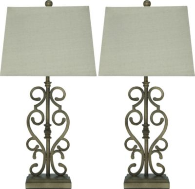 Ashley Amiel Table Lamp (Set of 2)