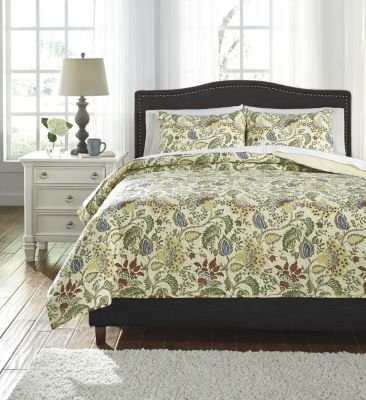 Ashley Damyan 3-Piece King Coverlet Set