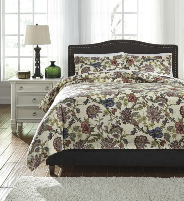 Ashley Dameka 3-Piece Queen Duvet Set