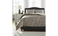 Ashley Damonica 3-Piece King Duvet Set
