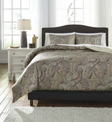 Ashley Damonica 3-Piece Queen Duvet Set