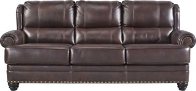 Ashley Glengary Leather Sofa