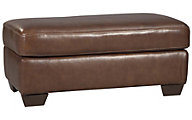 Ashley Lugoro Leather Ottoman