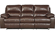 Ashley Transister Power Reclining Sofa
