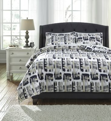 Ashley Dannell 3-Piece King Duvet Set