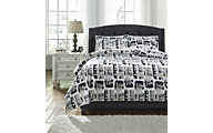 Ashley Dannell 3-Piece Queen Duvet Set