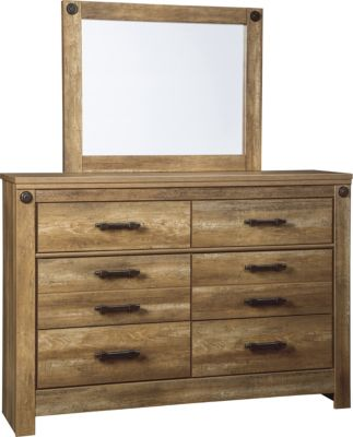 Ashley Ladimier Dresser with Mirror