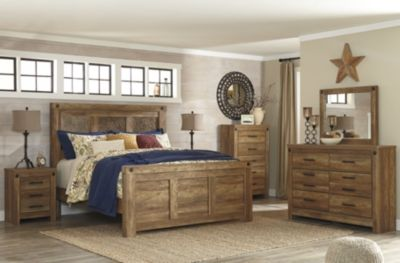 Ashley Ladimier 4-Piece King Bedroom Set