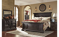 Ashley Willenburg 4-Piece King Panel Bedroom Set