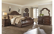 Ashley Florentown 4-Piece King Bedroom Set