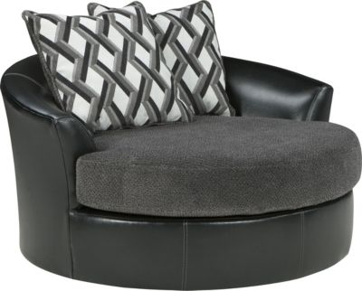 Ashley Kumasi Oversized Swivel Chair